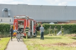 25 september 2020 - Hekkelafval in brand Doorvaart Dokkum
